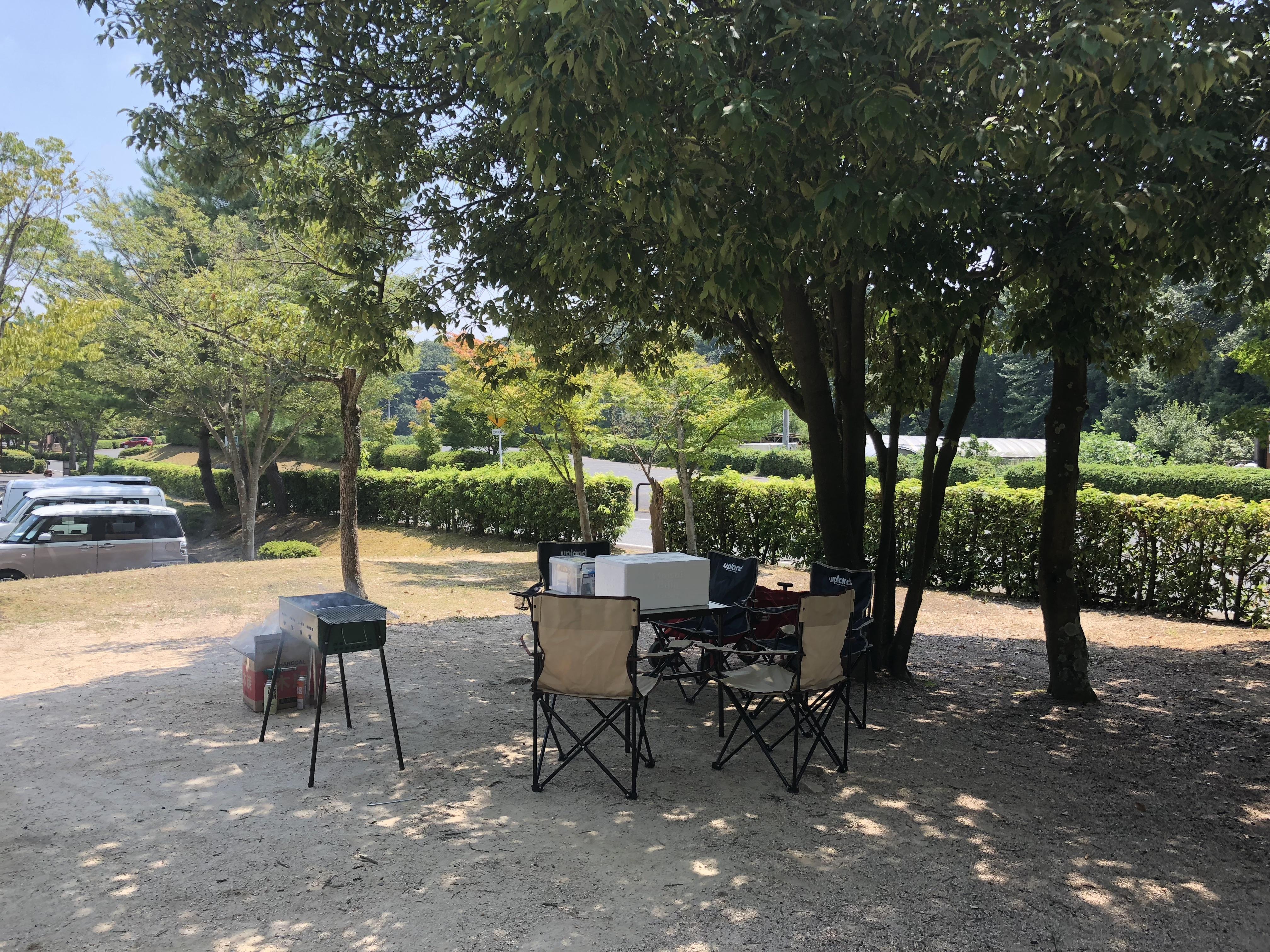 砂川公園バーベキュー